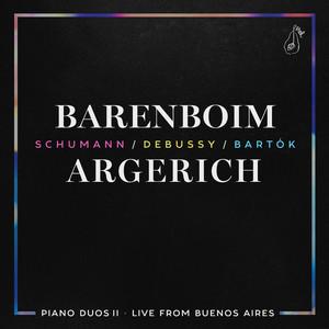 Piano Duos II - Schumann, Debussy, Bartók (Live) Albumcover