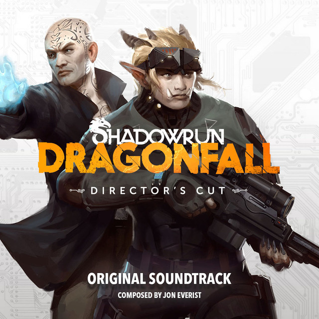 Album cover for Shadowrun: Dragonfall Original Soundtrack by Jon Everist