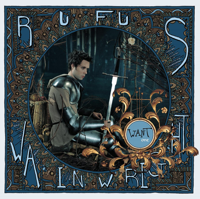 Rufus Wainwright Want album cover