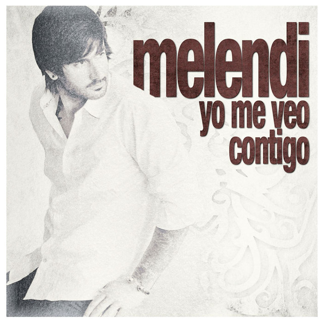 Album cover for Yo me veo contigo by Melendi