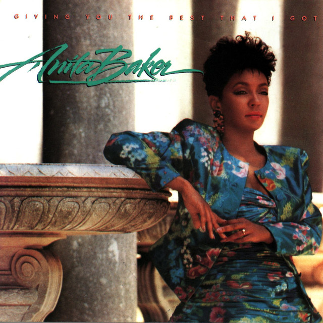 Anita Baker Giving You the Best That I Got album cover