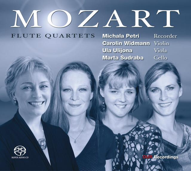 Mozart, W.A.: Flute Quartets Nos. 1-4 Albumcover