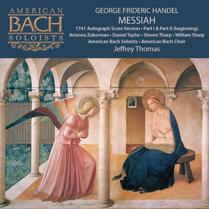 George Frideric Handel: Messiah (Part 1, Part 2 Beginning) Albümü