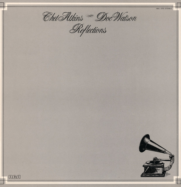 Chet Atkins, Doc Watson Reflections album cover