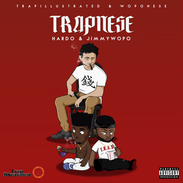 Album cover for Trapnese by Hardo, Jimmy Wopo