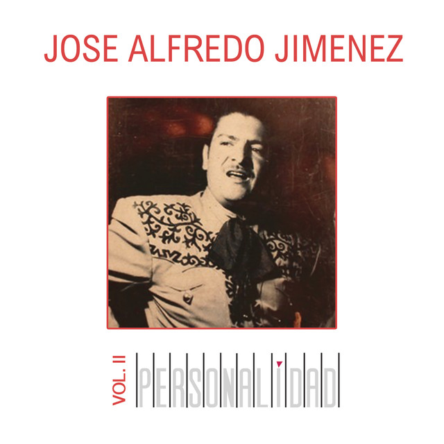 Album cover for Personalidad , Vol. II by José Alfredo Jimenez