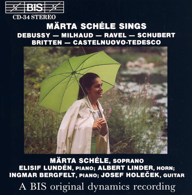 Debussy / Milhaud / Ravel / Schubert: Songs Albumcover