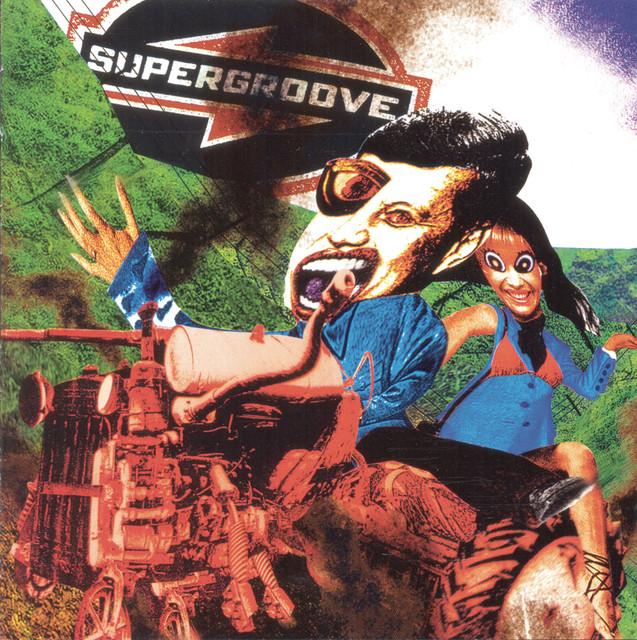 Supergroove Tractor album cover