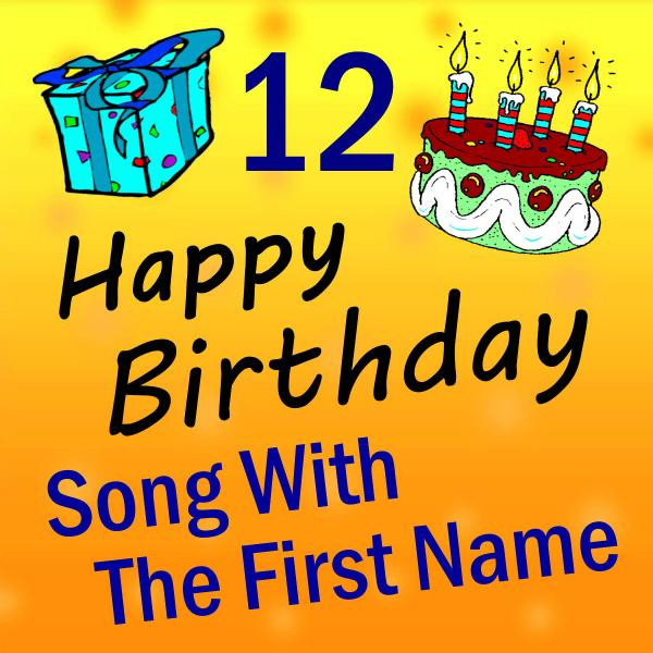 Song With The First Name Vol 12 By Happy Birthday On Spotify