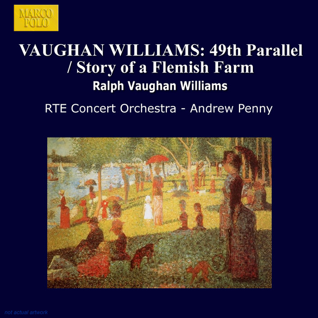 Vaughan Williams: 49th Parallel / Story of A Flemish Farm Albumcover