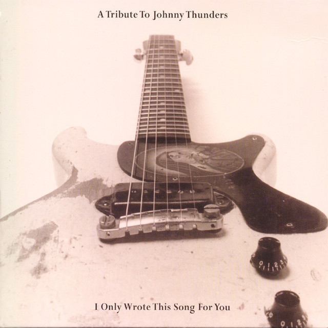 Various Artists A Tribute To Johnny Thunders: I Only Wrote This Song For You album cover