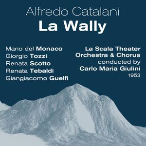 Alfredo Catalani : La Wally (1953) Albümü