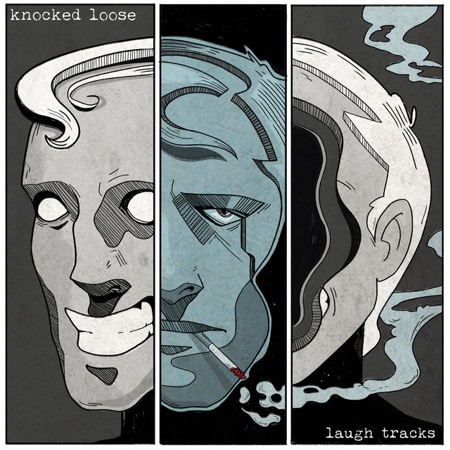 Album cover for Laugh Tracks by Knocked Loose