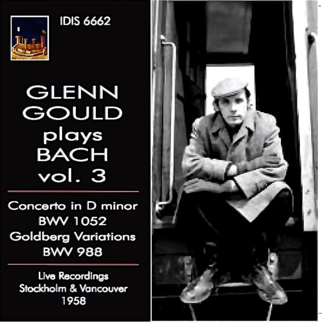 Glenn Gould plays Bach, Vol. 3 (1958) Albumcover
