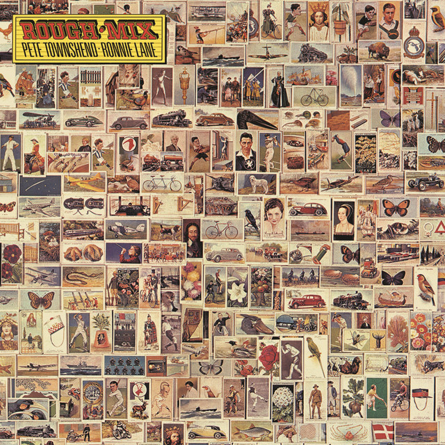 Pete Townshend, Ronnie Lane Rough Mix album cover