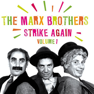 The Marx Brothers, Alan Jones, Chico Marx Cosi Cosa cover