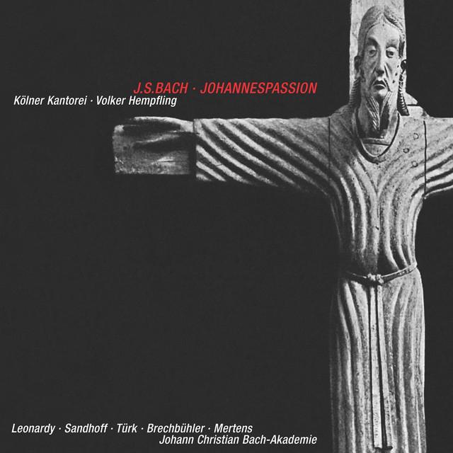 J.S. Bach: Johannespassion, BWV 245 (Version 1748/1738) [Live] Albumcover