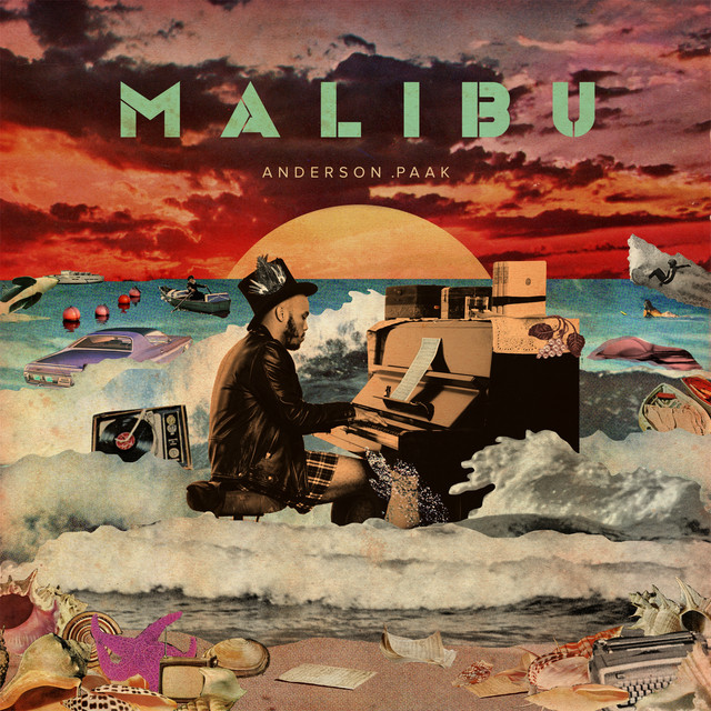 Image result for Anderson Paak - Malibu