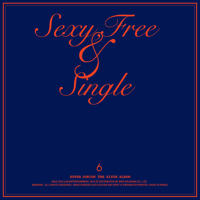 Sexy, Free & Single Albumcover