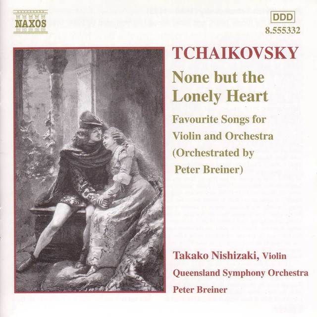 Tchaikovsky: None But the Lonely Heart Albumcover
