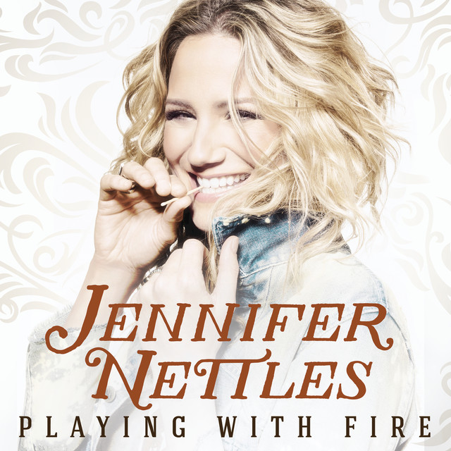 Album cover for Playing With Fire by Jennifer Nettles