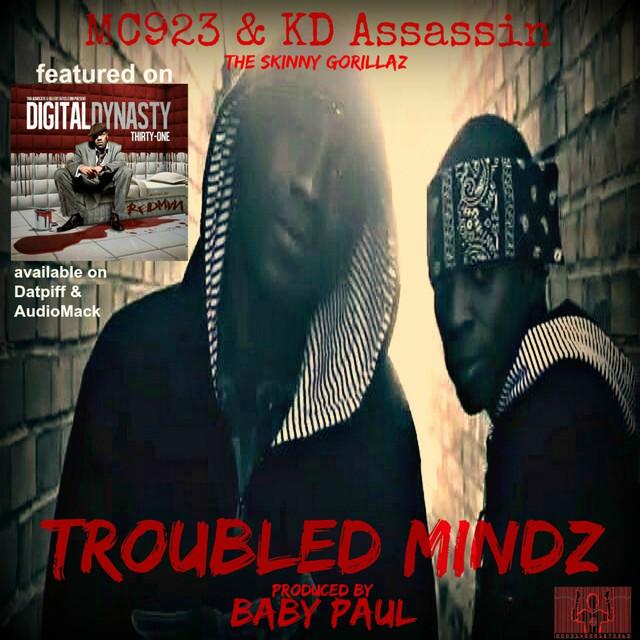 Troubled Mindz(single) by MC923 & KD Assassin(The Skinny Gorillaz