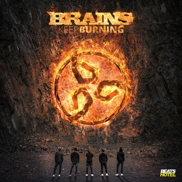 Album cover for Keep Burning by Brains