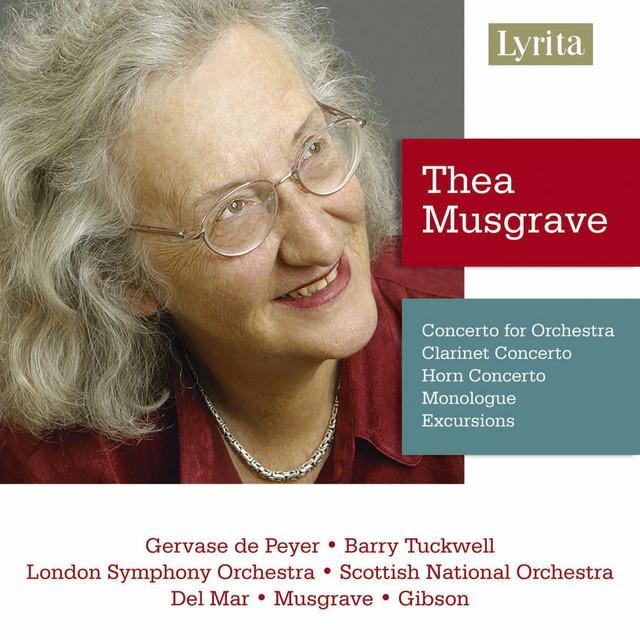 Thea Musgrave: Clarinet & Horn Concertos