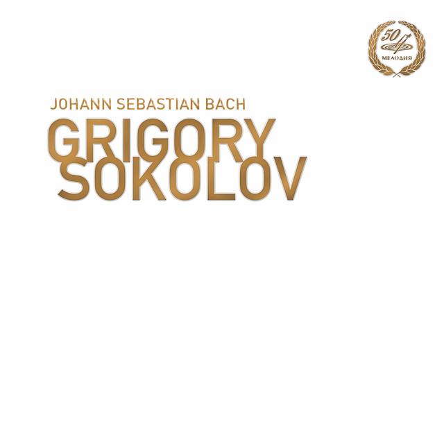 Grigory Sokolov plays Bach Albumcover