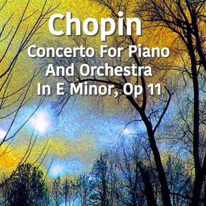 Chopin Concerto For Piano And Orchestra No. 1 in E Minor, Op. 11 Albümü