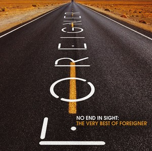 No End In Sight: The Very Best Of Foreigner Albumcover