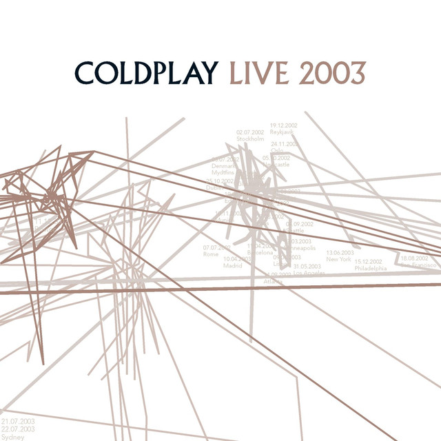 Coldplay Live 2003 album cover