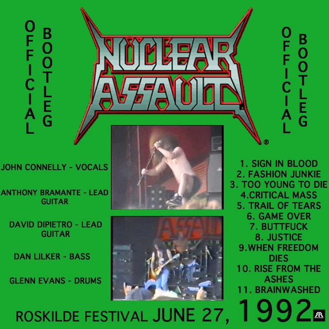 Live At Roskilde Festival June 27, 1992 (Official Bootleg) by