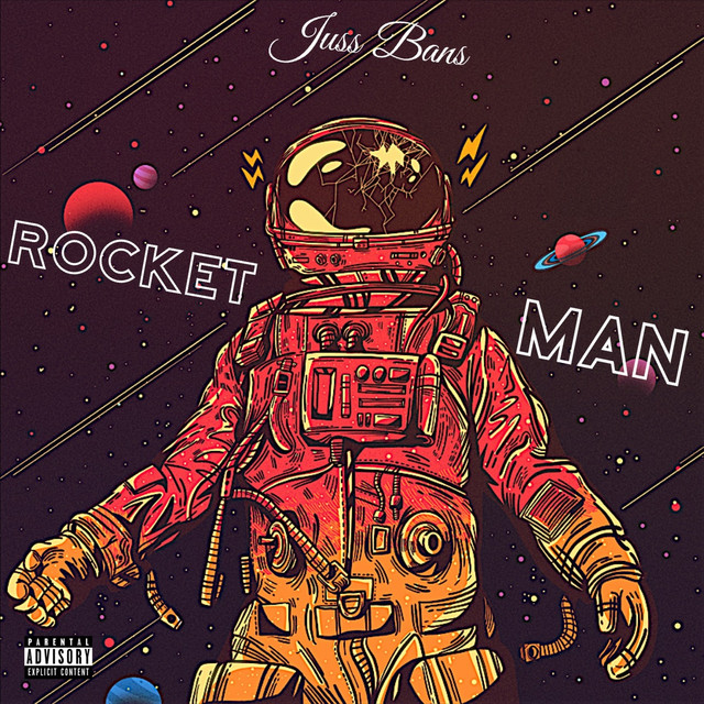 Album cover for Rocket Man by Juss Bans