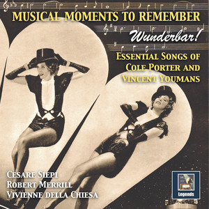 Musical Moments to Remember: Wunderbar – Essential Songs of Cole Porter & Vincent Youmans album