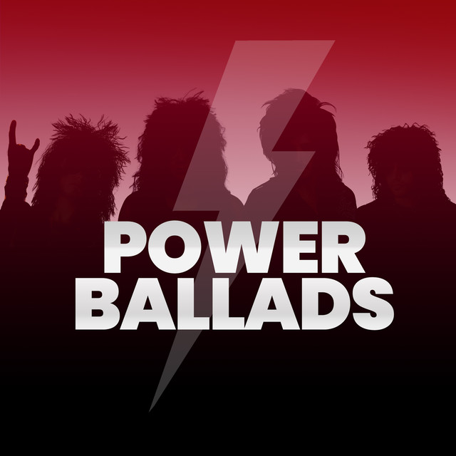 Album cover for Power Ballads - All Out of Love by Various Artists