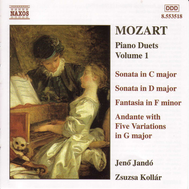 Mozart: Piano Duets, Vol  1 by Wolfgang Amadeus Mozart on Spotify