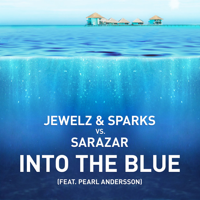 Sparks, Sarazar Into The Blue (feat. Pearl Andersson) album cover
