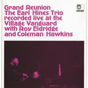 Earl Hines, The Earl Hines Trio, Roy Eldridge, Coleman Hawkins C-Jam Blues - Live At The Village Vanguard/1965 cover