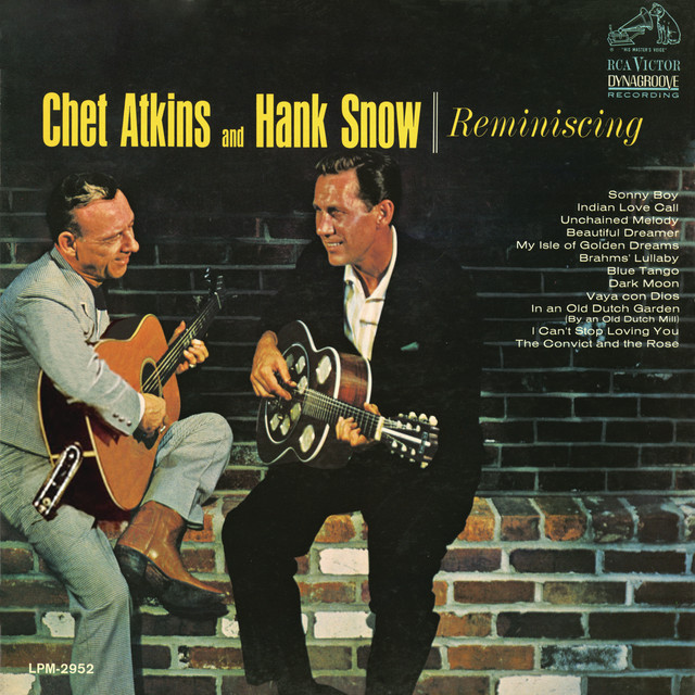 Hank Snow, Chet Atkins Reminiscing album cover