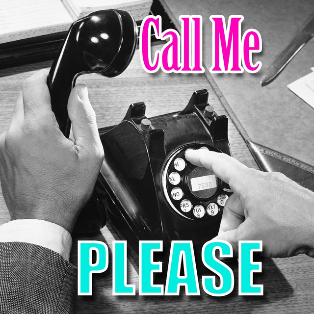 Call Me Please Albumcover