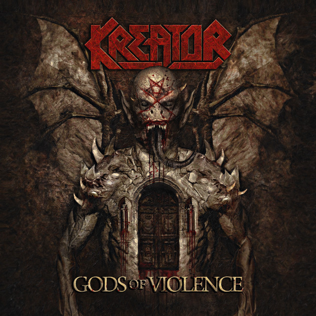 Album cover for Gods of Violence by Kreator